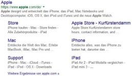 Google Suchergebnis Produkte Anzeigen