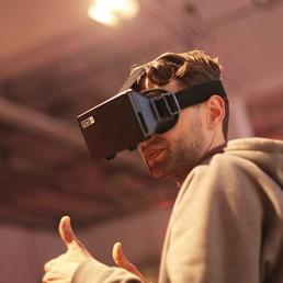 Webdesigner virtual reality