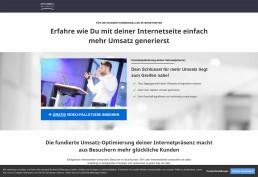 Sales-Funnel Landingpage Webdesign