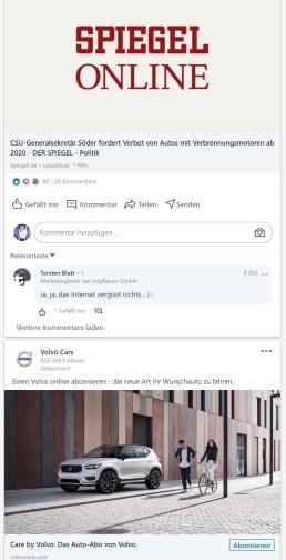 Ads Fails Onlinewerbung CDU Verbot Motor