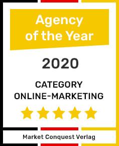 Auszeichnung Online Marketing Agentur Berlin